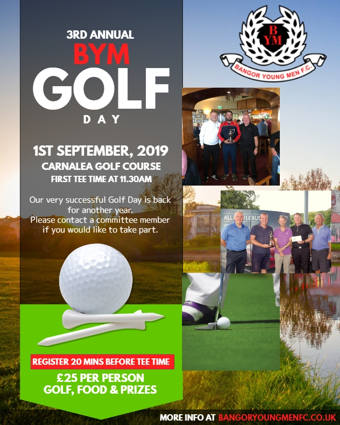 BYM Golf Day 2019